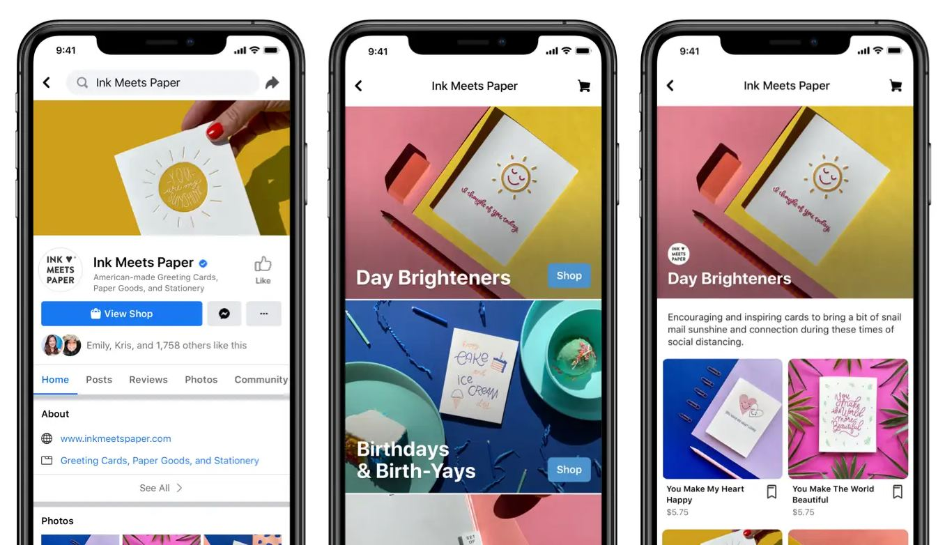 facebook stores opportunity